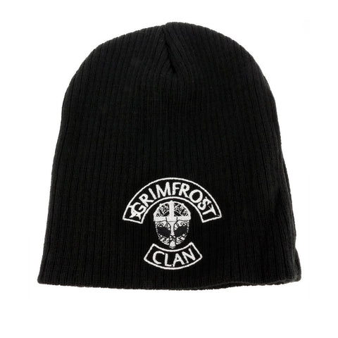 Clothing - Modern - Grimfrost Clan Beanie, Black - Grimfrost.com