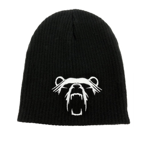 Beanies - Grimfrost's Bear Beanie, Black - Grimfrost.com
