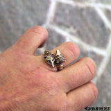 Rings - Bear Ring, Bronze - Grimfrost.com