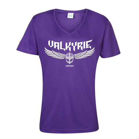 V-neck Tee, Valkyrie, Purple