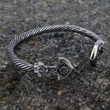Arm Rings - Mjolnir Armring, Stainless Steel - Grimfrost.com