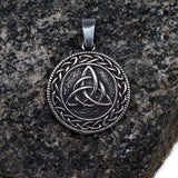 Triquetra Pendant, Stainless Steel