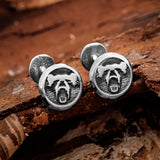 Berserker Cufflinks, Stainless Steel