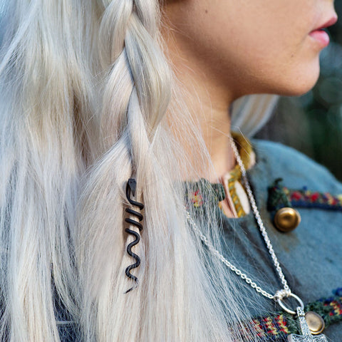 Earrings - Hair Jewelry, Wyrm - Grimfrost.com
