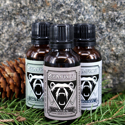 Beard Oil - Grimfrost Beard Oil Set - Grimfrost.com