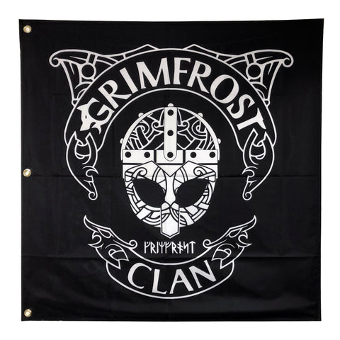 Merchandise - Grimfrost Clan Flag - Grimfrost.com