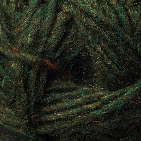 Viking Age Knitting - Alafosslopi Yarn, Cypress Green - Grimfrost.com