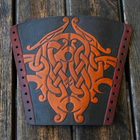 Premium Warrior Bracer, Dragons