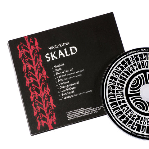 Music - Wardruna, Skald, CD - Grimfrost.com