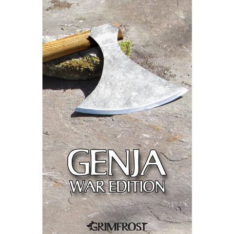 Premium Items - Genja the Berserker's Axe, War Edition - Grimfrost.com