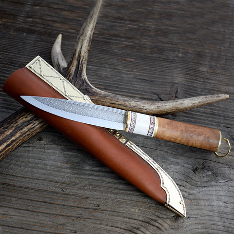 Premium Knife, Antler Claw