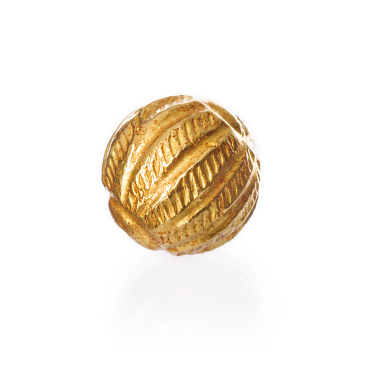 Viking 18K Gold Bead, Thor