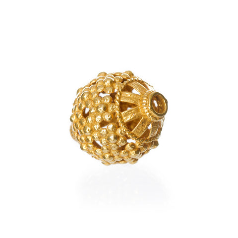 Viking 18K Gold Bead, Balder