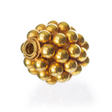 Viking 18K Gold Bead, Bragi