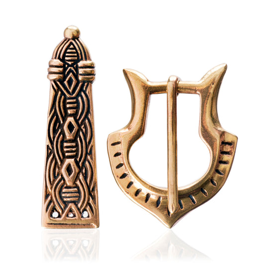 Belts - Viking Belt Fittings, Bronze - Grimfrost.com
