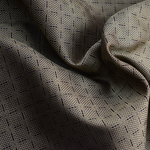 Fabric - Handwoven Birka Silk, Brown - Grimfrost.com