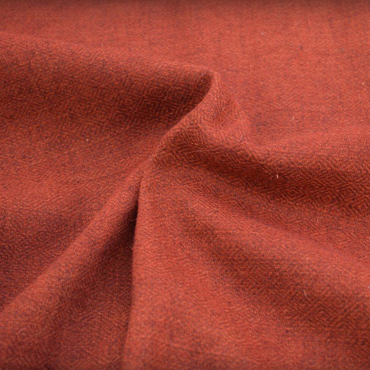 Fabric - Handwoven Diamond Twill, Red - Grimfrost.com