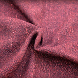 Fabric - Handwoven Diamond Twill, Darker Red - Grimfrost.com