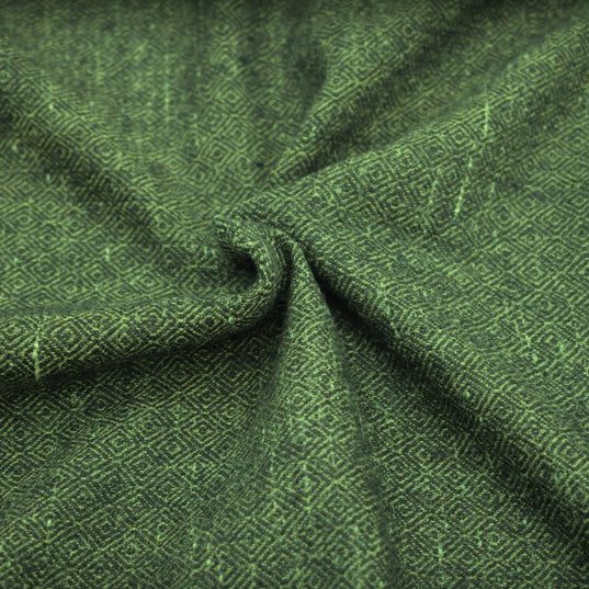 Fabrics - Handwoven Diamond Twill, Green - Grimfrost.com