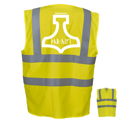 Work Clothes - Safety Vest, Thor Protect, Yellow - Grimfrost.com