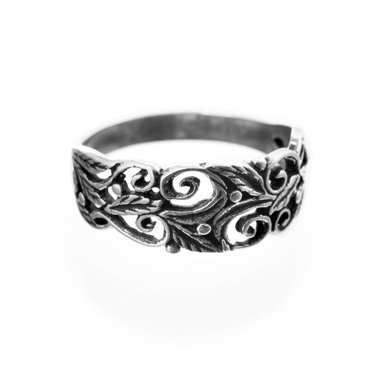 Rings - Grein Ring, Silver - Grimfrost.com