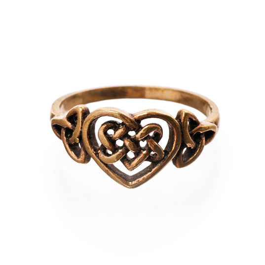 Rings - Hiarta Ring, Bronze - Grimfrost.com