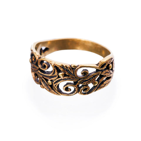 Rings - Grein Ring, Bronze - Grimfrost.com
