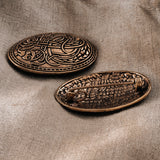 Small Tortoise Brooches, Bronze