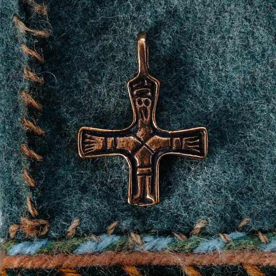 Pendants - Birka Cross, Bronze - Grimfrost.com