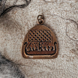 Pendants - Viking Ship Pendant, Bronze - Grimfrost.com