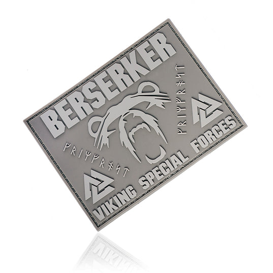 Patches - Berserker Morale Patch, PVC Velcro, Army Tan - Grimfrost.com