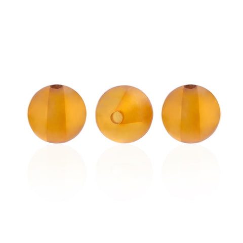 - Amber Beads, Polished Round - Grimfrost.com