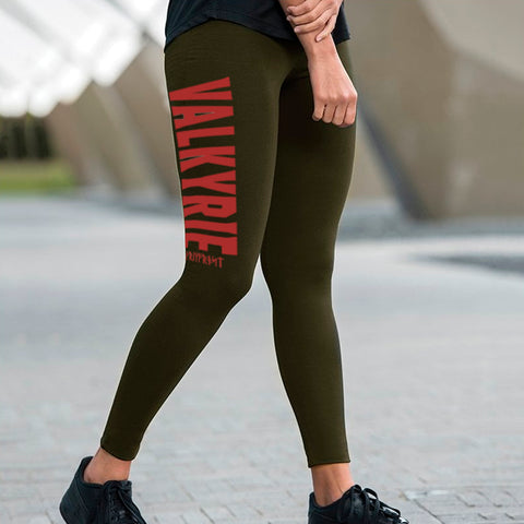 Leggings, Valkyrie, Combat Green