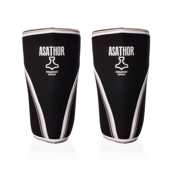 Gym Equipment - Knee Sleeves, 7mm, Asathor - Grimfrost.com