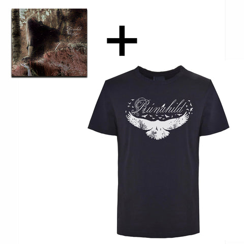 Rúnahild T-shirt and CD, Black