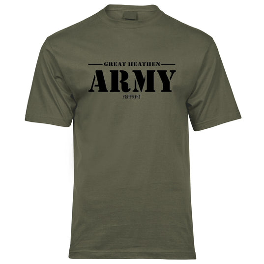 Premium Tee, Great Army, Olive Drab