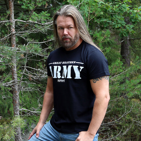 T-shirts - Premium Tee, Great Army, Black - Grimfrost.com