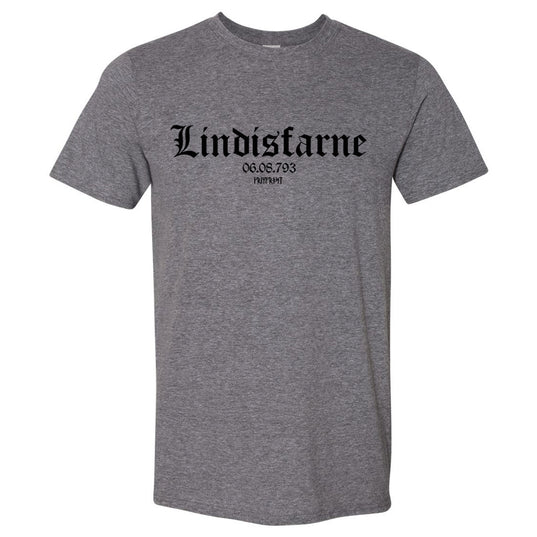 T-shirts - T-shirt, Lindisfarne, Dark Heather - Grimfrost.com
