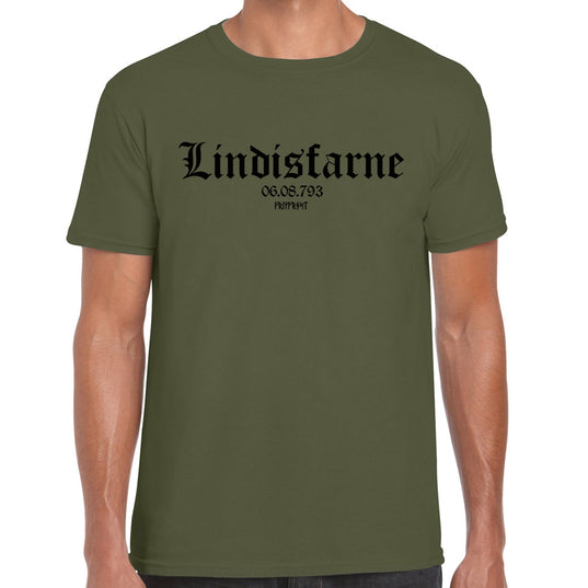 T-shirts - T-shirt, Lindisfarne, Military Green - Grimfrost.com