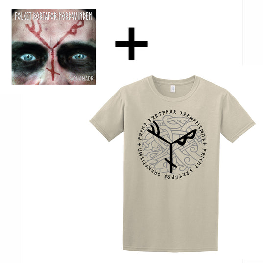 Sets & Bundles - FBN T-shirt and CD, Desert Sand - Grimfrost.com