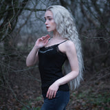 Tank Tops - Women's Lace Top, Freyja - Grimfrost.com