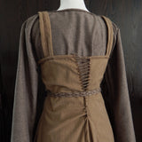 Premium Apron Dress, Brown
