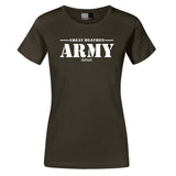 T-shirts - Women's Shirt, Great Army, Dark Khaki - Grimfrost.com