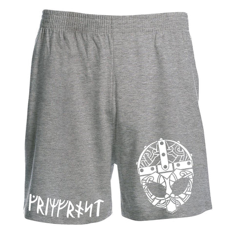 Shorts - Knee-Length Shorts, Grimfrost, Grey - Grimfrost.com