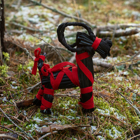 Yule Goats - Yule Goat, Small, Black - Grimfrost.com