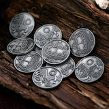 Accessories - Viking Coins, White Metal - Grimfrost.com