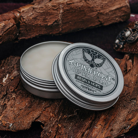 Beard Oil - Grimfrost Beard Balm, Resin & Hops - Grimfrost.com