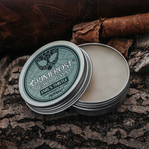 Beard Oil - Grimfrost Beard Balm, Jarl's Thistle - Grimfrost.com