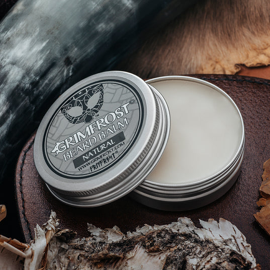 Beard Oil - Grimfrost Beard Balm, Natural - Grimfrost.com