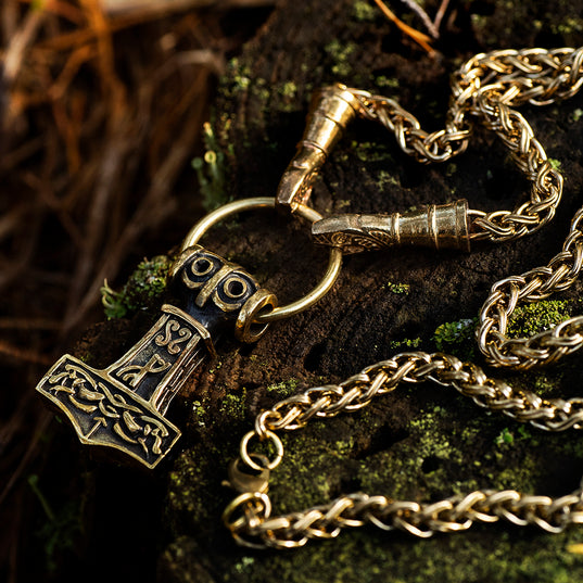 Sets & Bundles - Varoy Chain Set, Brass - Grimfrost.com